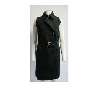 MCM Black Midi Dress Sz L